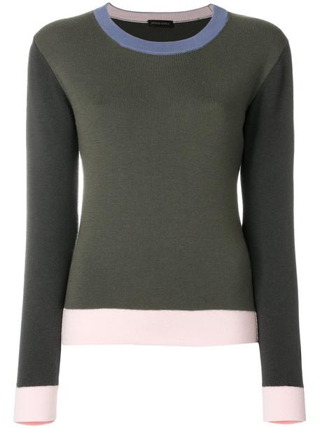 STINE GOYA jumper women green sweater