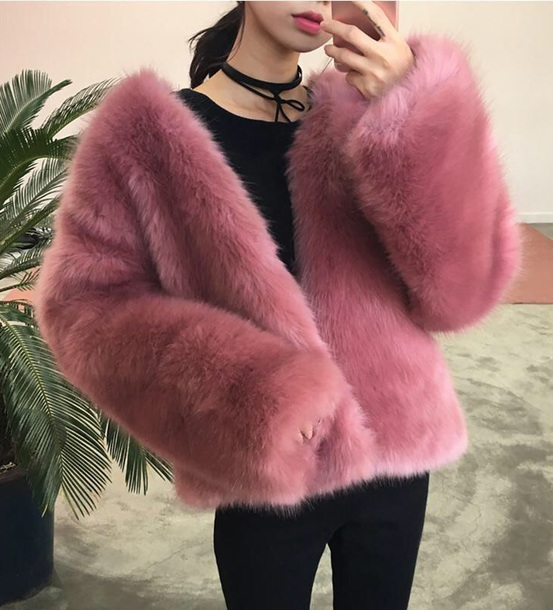 coat girly pink fur fur coat fur jacket faux fur faux fur jacket faux fur coat tumblr