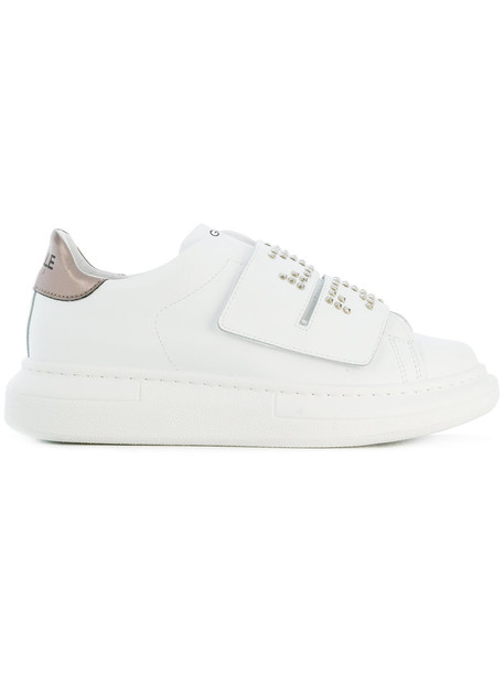 Gaelle Bonheur strappy women sneakers leather white shoes