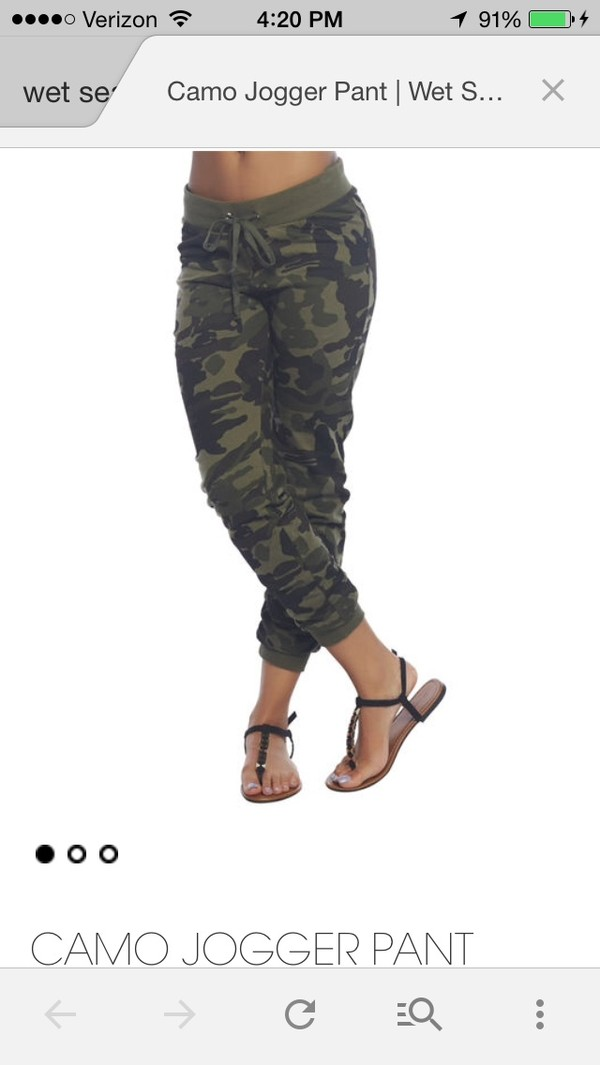 Elastic Plus Size Camo Pants For Women, Winter Military Pants ...