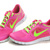 2013 Nike Free Run  3 Womens Rose Green Shoes