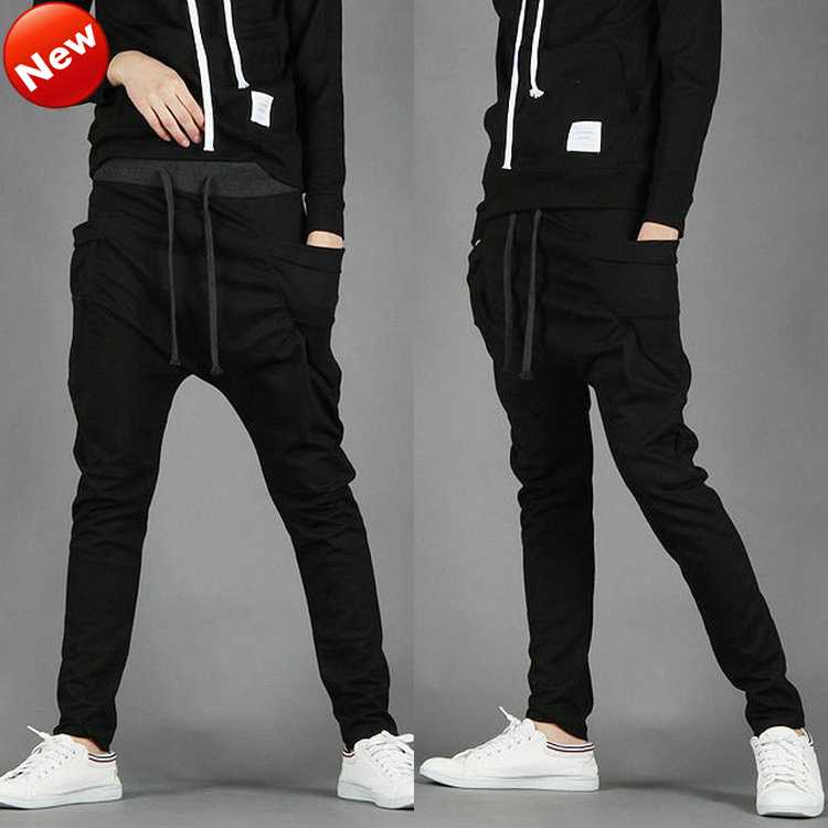 Men Women Unisex Casual Athletic Hip Hop Dance Sporty Harem Baggy Tapered Sport Sweat Pants Trousers Sweatpants Slacks Joggers-in Pants from Apparel & Accessories on Aliexpress.com