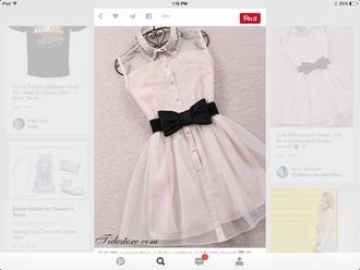 dress peter pan collar dress