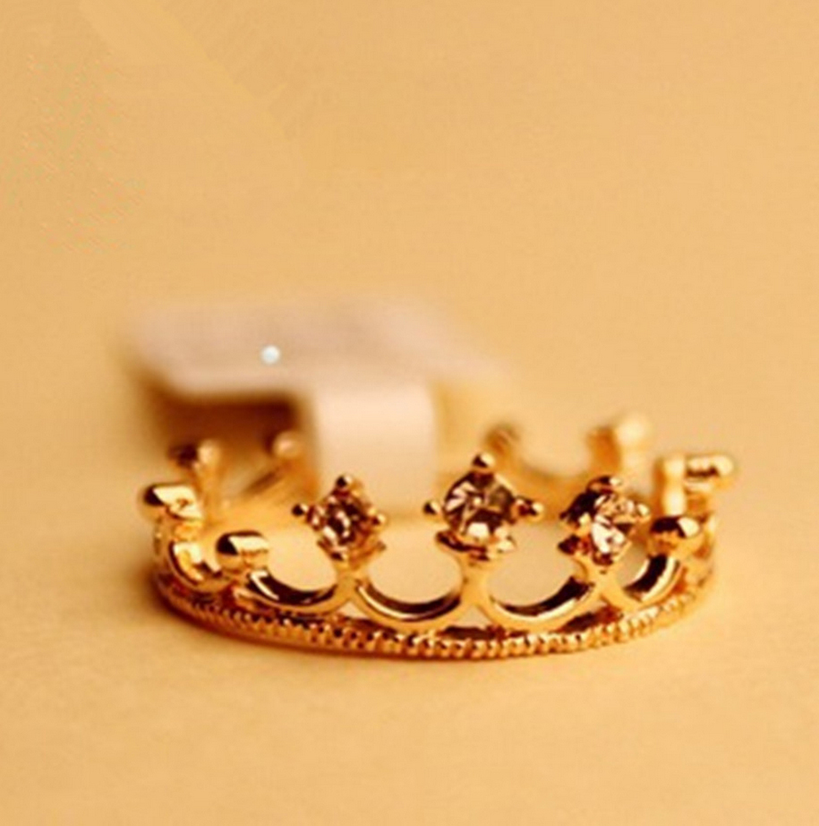 princess crown ring .crown ring jewelry wholesale-in Rings from Jewelry on Aliexpress.com