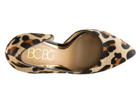 BCBG Paris Jaze Leopard Pump