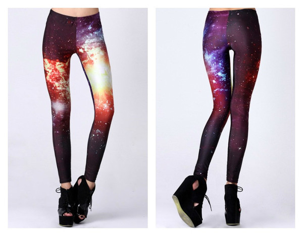 Burning galaxy leggings – house of troika