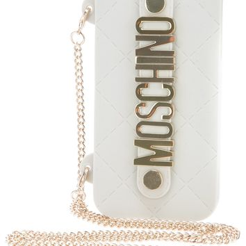 Moschino Chain Logo Iphone 5 Case on Wanelo