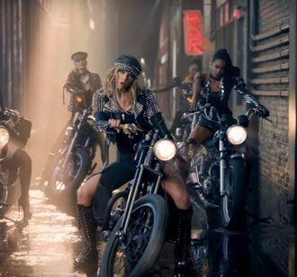 jacket music video taylor swift boots biker jacket shoes