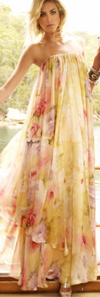 dress formal floral rose ruby gown wedding clothes homecoming gorgeous beautiful pretty dressy classy
