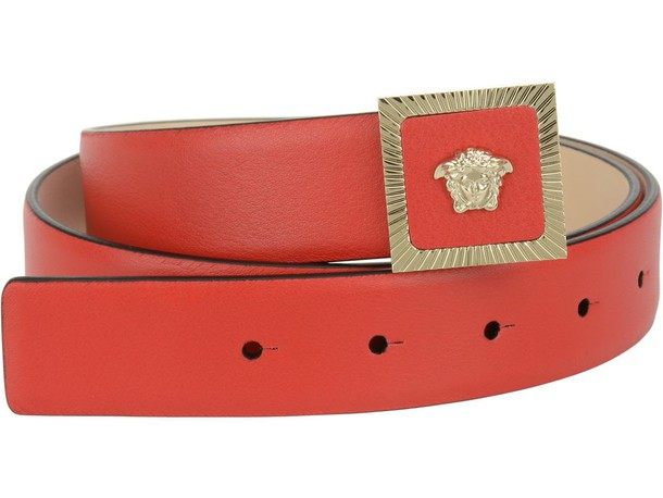VERSACE belt red