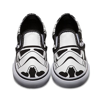 shoes unisex star wars black and white printed vans vans
