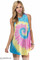 """just an illusion"" boho multicolor tie dye dress – glamzelle"