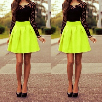 dress green dress lace top black top blouse long sleeves black lace dress tumblr outfit fashion cute dress style shoes