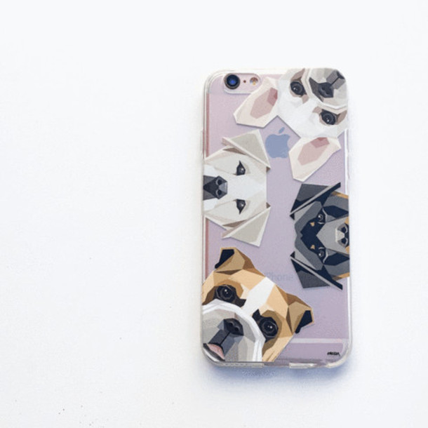 Milkyway Cases CLEAR TPU CASE COVER - DOGS WITH ATTITUDE