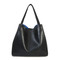 Croco shopping tote / 4 colors