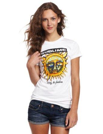Amazon.com: FEA Juniors Sublime Sun Tissue Tee: Clothing