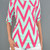 Chevron Top w/ Pocket, 3/4 Sleeves - Color Options | Betsy Boo's Boutique