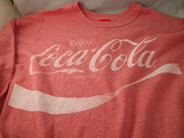 Cola licensed sweatshirt nice vintage look coke new w/tags soft