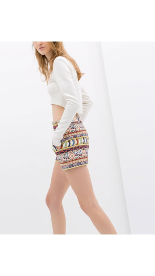 shorts colorful shorts zara summer summer outfits spring outfits spring