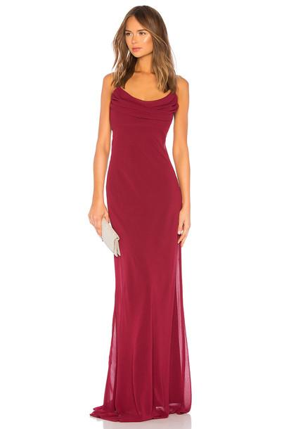 Katie May Eden Gown in red