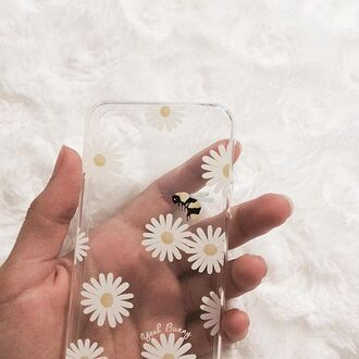 phone cover yeah bunny cover cute daisy daisies case iphone cover iphone case