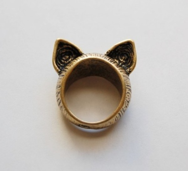ring jewels cats