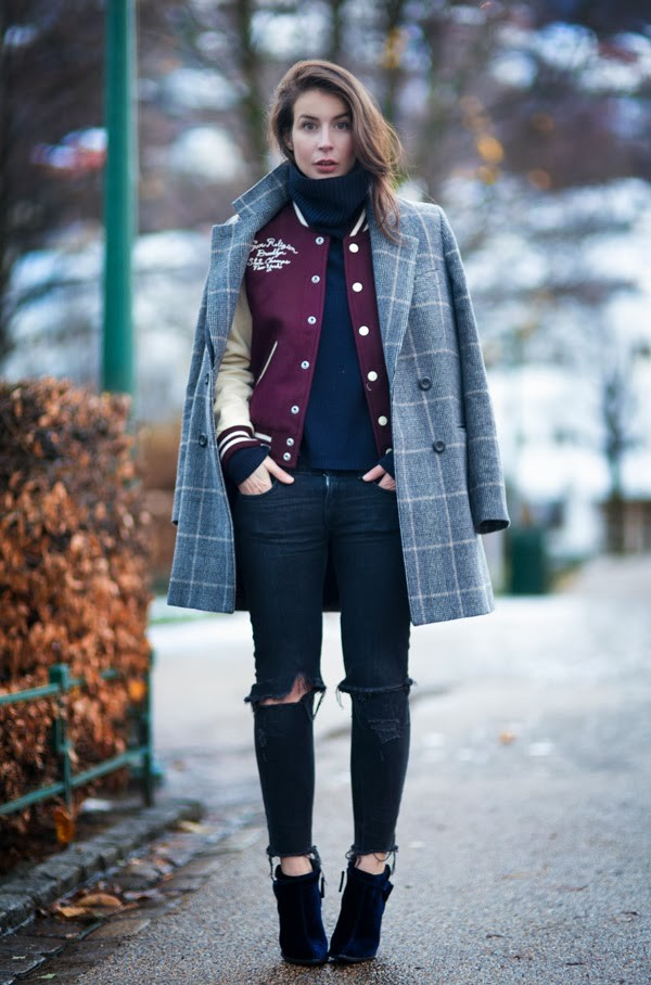 portablepackage coat jacket sweater jeans shoes