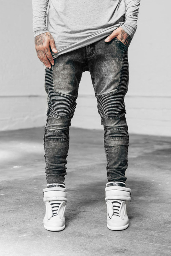 GATHERED HEM JEANS - Jeans - MAN : ZARA United States