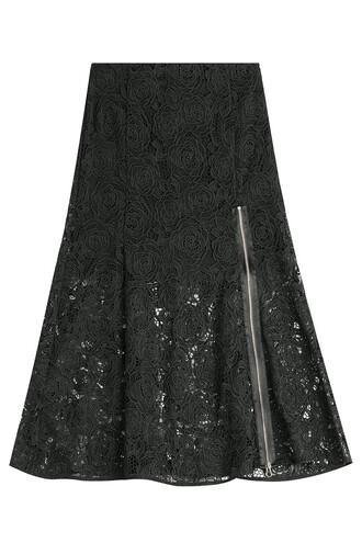 skirt lace skirt lace black