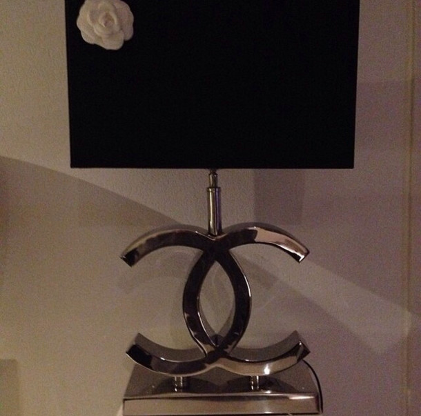 Lamp Chanel Table Lamp Dope Wishlist Home Accessory Wheretoget