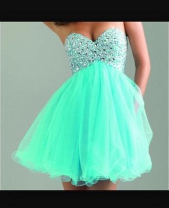 dress prom dress sparkles teel