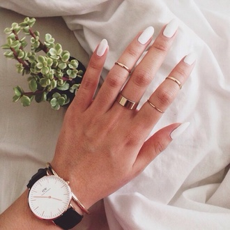 nail accessories watch watch gold bracelets