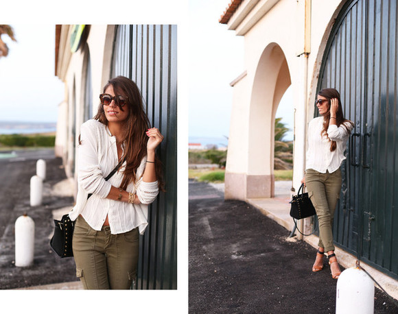 t-shirt jeans shoes jewels bag seams for a desire sunglasses