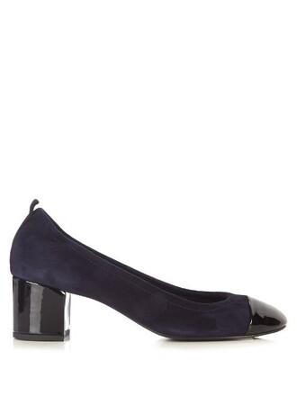 suede pumps pumps suede navy black shoes