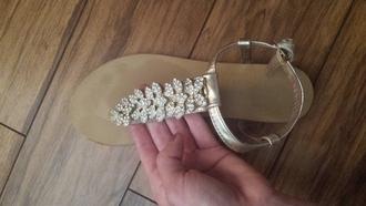 leaf shoes sandals dsw shoe gems sparkly
