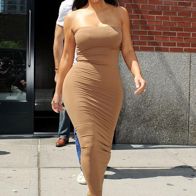 Celebrity maxi dresses get the look kim