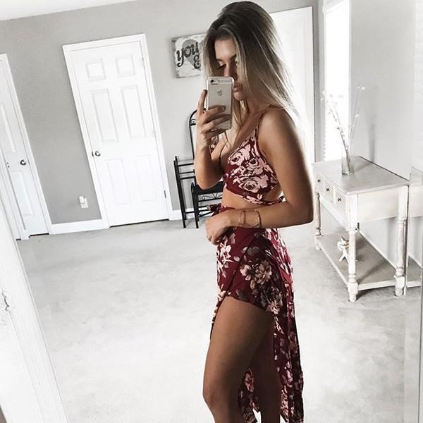 dress burgundy maxi dress romper