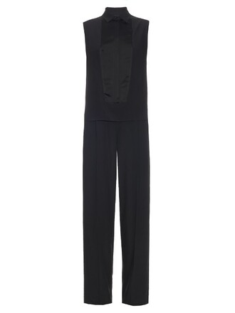 jumpsuit sleeveless black