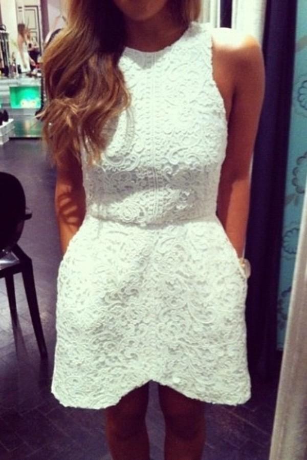 dress white dress ivory dress dress short dress