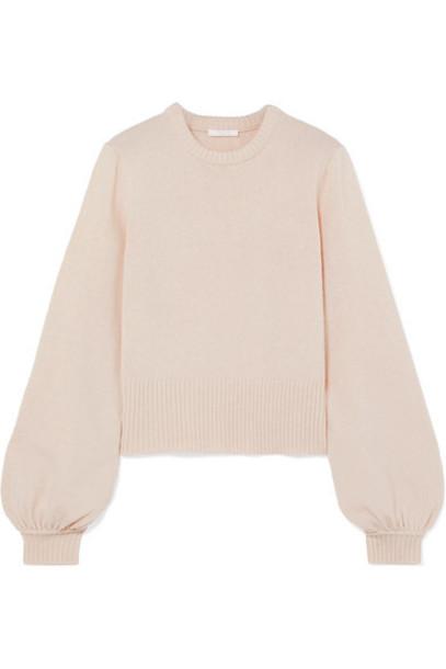 Chloé Chloé - Iconic Cashmere Sweater - Cream