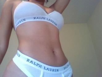 white underwear ralph lauren lingerie