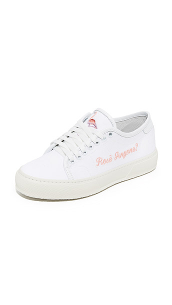 Joshua Sanders rose sneakers white shoes