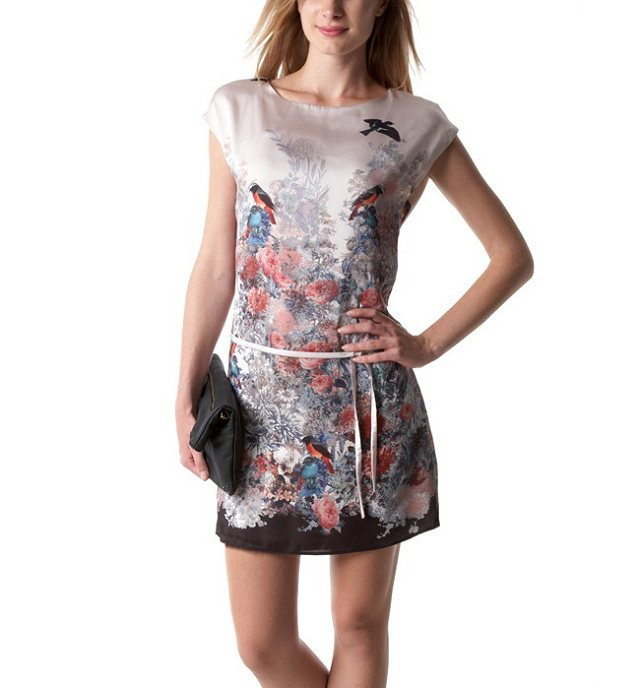 Aliexpress.com : Buy Free shipping new Women's sleeveless printed slim mini dress from Reliable mini kimono dress suppliers on LOOK BOOK STORE WHOLESALE.