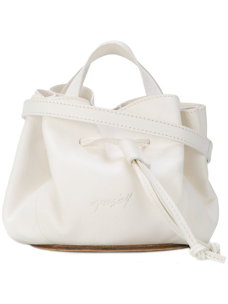 Marsèll women bag bucket bag leather white