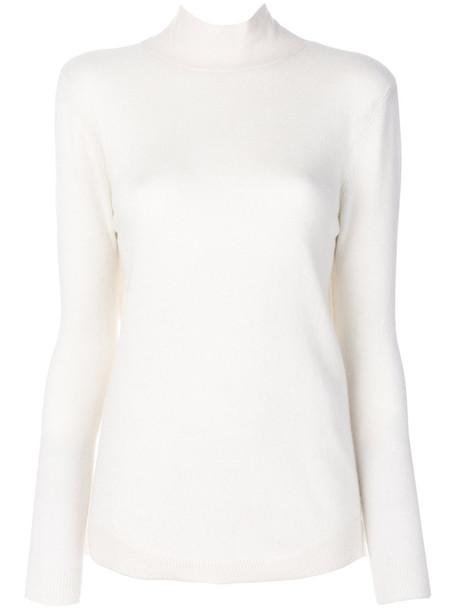Cashmere In Love - cashmere Vera jumper - women - Cashmere - L, White, Cashmere