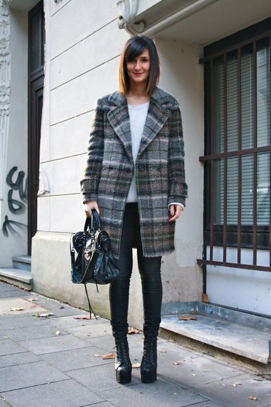 oversized winter outfits coat