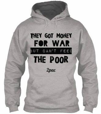 sweater tupac war poor feed the money for tupac sweater
