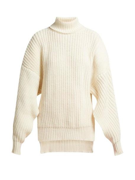 sweater wool sweater wool cream