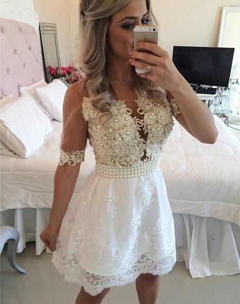Comprar vestido blanco barato