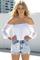 Sabo skirt  lace denim sophia shorts